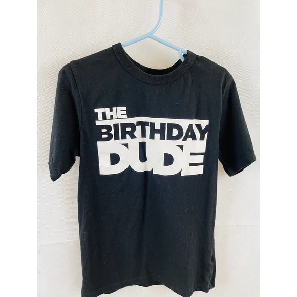 Boys Birthday T-Shirt Birthday Dude 5/6